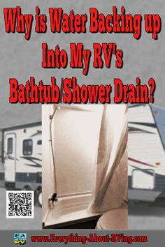 water backing up into bathtub rv hints tips on pinterest motorhome rv living and rv