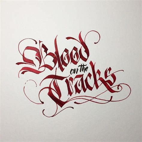 tattoo font blood 4736 best calligraphy images on pinterest penmanship