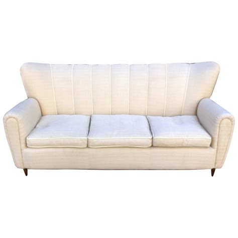 italian sofas for sale italian sofa in the style of guglielmo ulrich for sale at