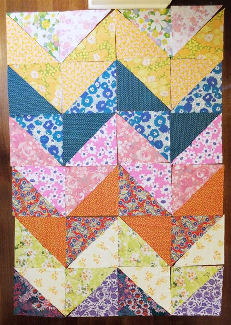 Patchwork Cover - how to patchwork duvet cover my poppet makes