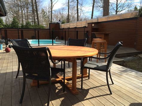 Mobilier Patio by Mobilier Teck 5 Beau Patio