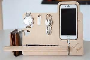 phone organizer desk the handmade desk organizer boasts integrated stand