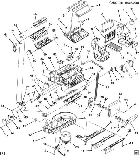 free download parts manuals 2003 buick rendezvous spare parts catalogs 2003 buick rendezvous a c heater module asm