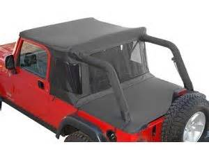 Jeep Tonneau Cover With Soft Top Mopar 82208929ab Mopar 174 Half Top With Tonneau Cover In
