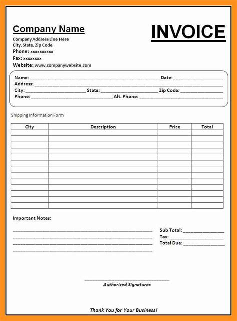 billing invoice templates 28 accounting invoice template sle billing invoice 11