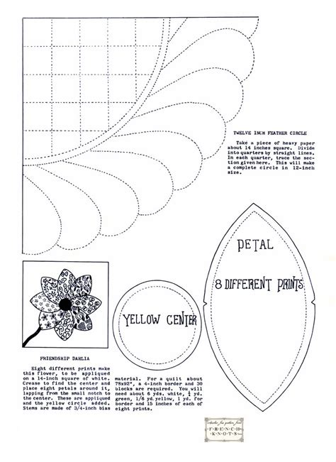 response pattern in french applique patterns archives french knots