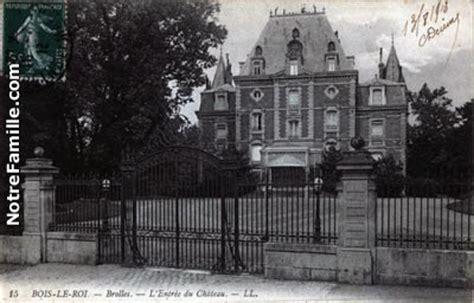 Photos et cartes postales anciennes de Bois le Roi, 77590