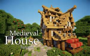 minecraft medieval house tutorial design 4 youtube