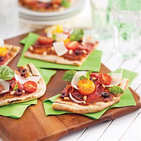 pizza au salami et tomates du jardin recettes cuisine
