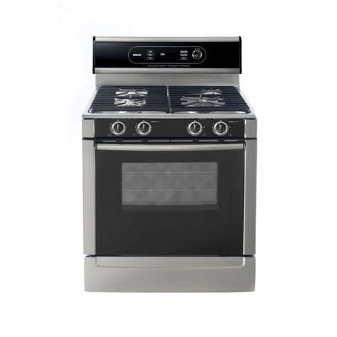 stoves kitchen appliances bosch dual fuel gas range 30 in cu ft hds7052u sears