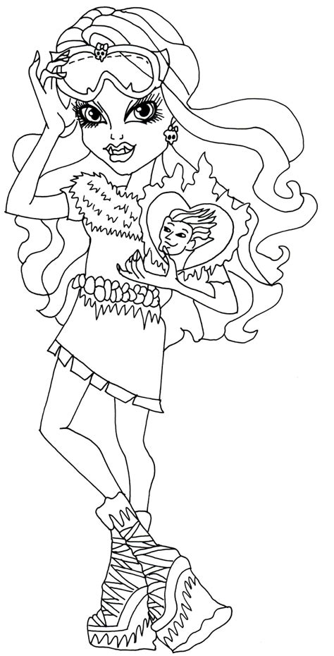 coloring pages for art class free printable monster high coloring pages abbey
