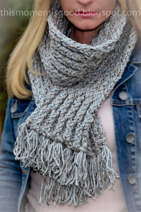 knitting a scarf on a loom loom knit honeycomb scarf loom knitting by this