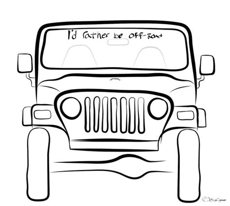 jeep drawing easy jeep drawings search it s a jeep thing