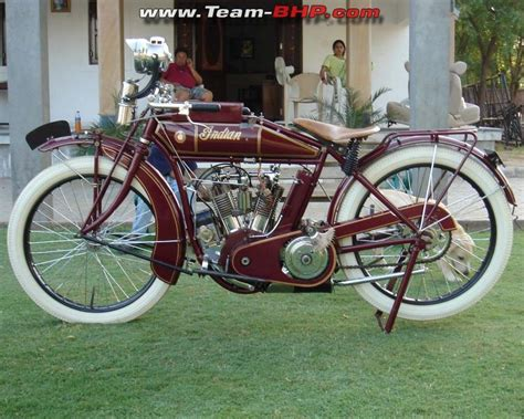 four cyclone 2515 1915 indian v motorcycle subodh nath s garage