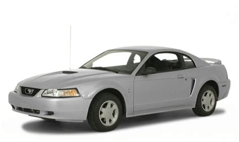 ford mustang 2000 mpg 2000 ford mustang base 2dr coupe information