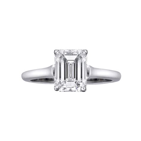 betteridge 2 18 carat emerald cut ring betteridge