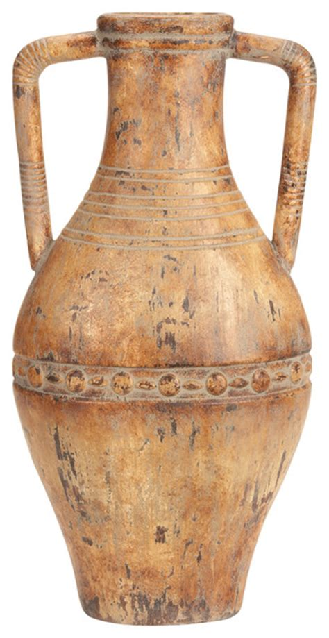 Tuscan Pottery Vases by World Ceramic Tuscan Vase Mediterranean Vases By