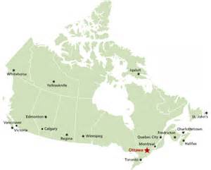 where is ottawa canada located on a map where is ottawa