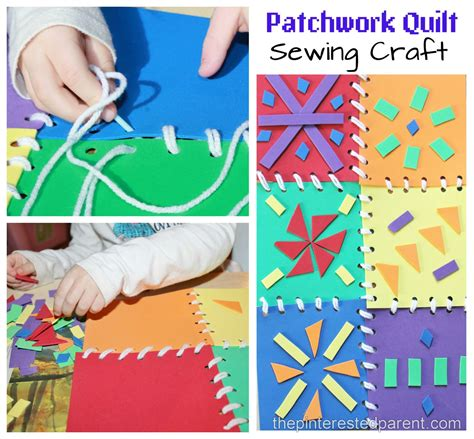 Patchwork And Craft - patchwork quilt sewing craft activity the pinterested