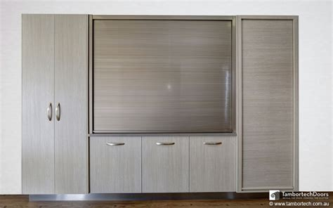 Kitchen Cabinet Roller Doors Display Showroom Tambortech