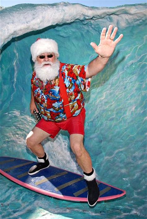 santa on surfboard best 28 santa with surfboard santa in shorts with surf board lolliprops event prop