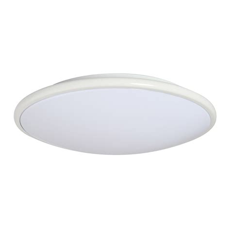 Lowes Lighting Fixtures Ceiling Shop Amax Lighting Led Ceiling Fixtures 13 In W White Led Ceiling Flush Mount At Lowes
