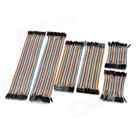 40p Jumper Cable 30 Cm To Terlaris Terlaris 40p to to jumper cable kit 30cm 20cm 10cm free shipping dealextreme