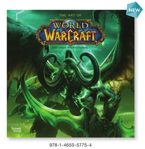 1416287205 world of warcraft calendar world of warcraft 2017 square calendar blizzplanet