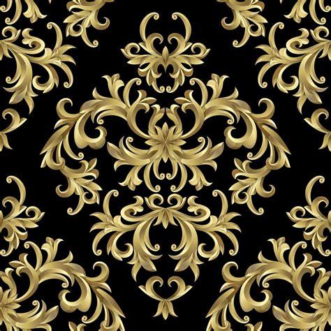 wallpaper pattern gold black gold symbol wall mural