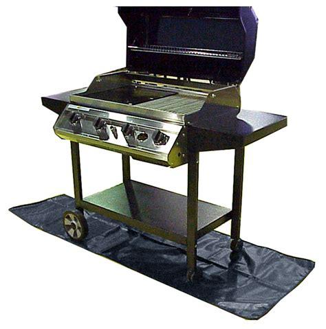 Grill Deck Mat by 180cm X 72cm Charcoal Bbq Splatter Patio Decking Mat