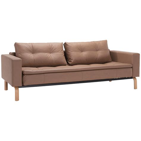 wooden sleeper couch innovation dual sleeper wood brown collectic home