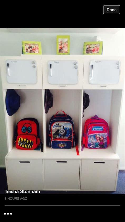 25 best ideas about school bag storage on storage ideas for bags laisumuam