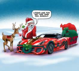 Santa claus sleigh cartoon 2 share the knownledge