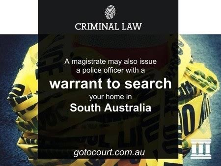 Do Need A Warrant To Search Your House Search Warrants In Sa Go To Court Criminal Lawyers Criminal
