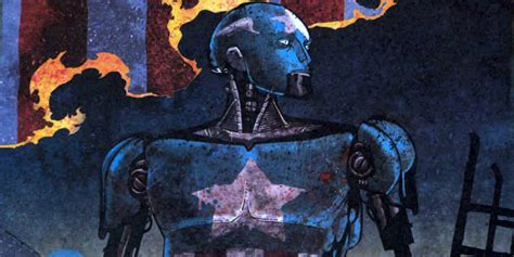 Robot Mobil Captain America 10 marvel concept pieces from millennial visions therealstanlee