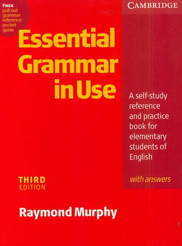 english grammar in use 0521189063 raymond murphy essential grammar in use with answers