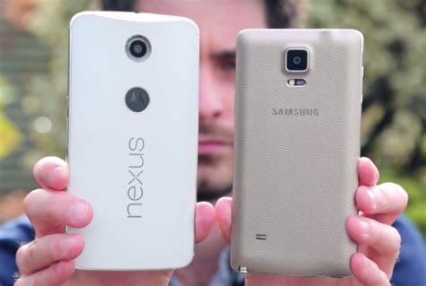Samsung Galaxy Note 4 Devices Gets Android 6 0 Marshmallow Find Out Which Ones Neurogadget S Nexus 6 Gets Compared To Samsung S Galaxy Note 4 Talkandroid