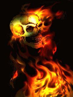 imágenes góticas en movimiento pin animados calaveras con fuego ima genes ajilbabcom