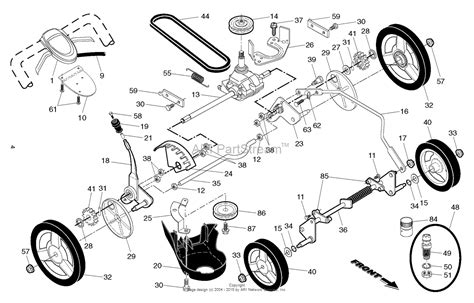 husqvarna lawn mower parts diagram husqvarna mower parts diagram smartdraw diagrams