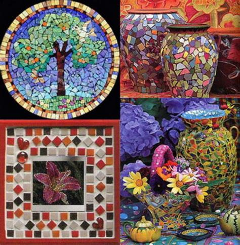 mosaic craft projects mosaic ideas craft gift ideas