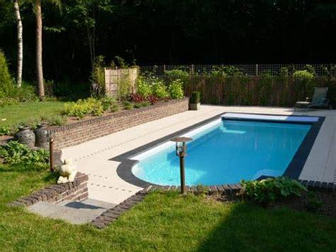 okidoki meubelen tuin met zwembad in rhenen inrichting huis