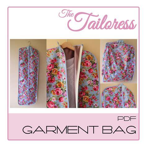 design patterns pdf garment bag pdf sewing pattern 4 sizes child to adult
