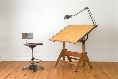 Anco Bilt Drafting Table Reserved Vintage Industrial Anco Bilt Drafting Table
