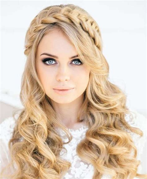 Prom Hairstyles For Curly Hair by Curly Prom Hairstyles For Hair Justimg