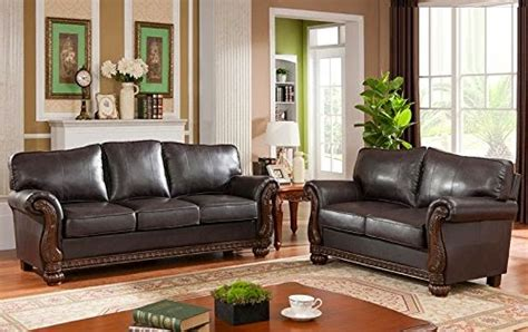 cherry brown leather sofa cheap reclining sofa and loveseat sets april 2015