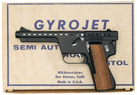 Mba Consignment Sale by Mba Ii Model C Gyrojet Pistol With Box Pistol
