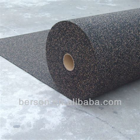 rubber cork underlay soundproof underlayment underlay floor buy acoustic underlay cork