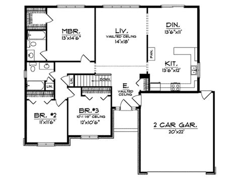 azalea park ranch home plan 051d 0008 house plans and more