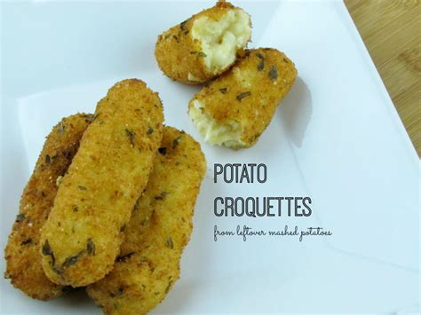 potato croquettes from leftover potatoes frugal upstate