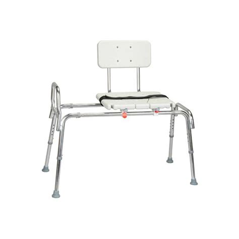 transfer bench with sliding seat sliding transfer bench with cut out seat colonialmedical com